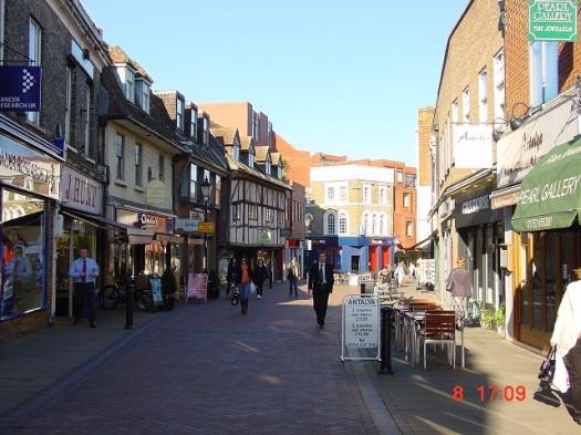 Windsor sokakları