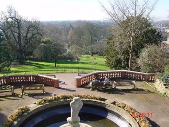 Richmond tepesinden görüntü