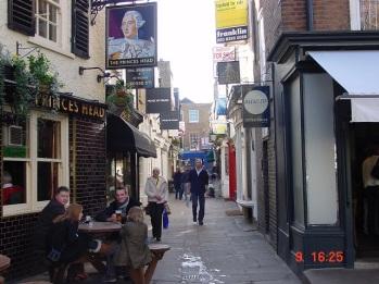 Richmond sokakları