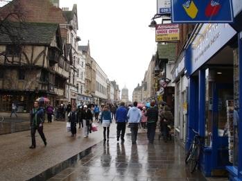 Oxford sokakları
