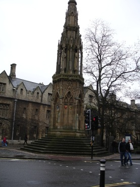 Martyrs' Memorial, Oxford
