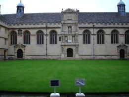 Üniversite bahçesi, Oxford