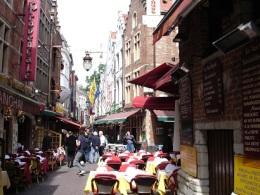 Brüksel sokakları