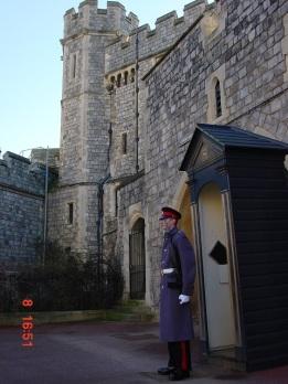Windsor' da nöbetçi