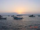 Ildırı' da günbatımı
