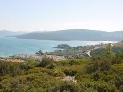 Mordoğan' dan Ege denizi