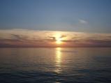 İzmit körfezinde günbatımı
