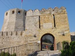 Bozcaada Kalesi kapısı
