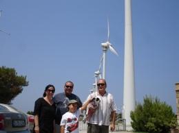 Rüzgar santrali hatırası