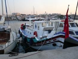 Bozcaada balıkçı korunağı
