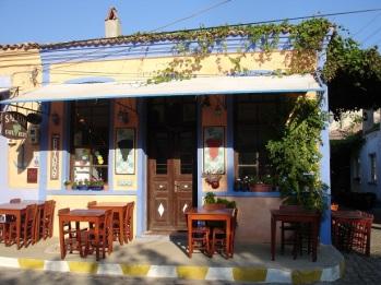 Bozcaada kahvehanesi