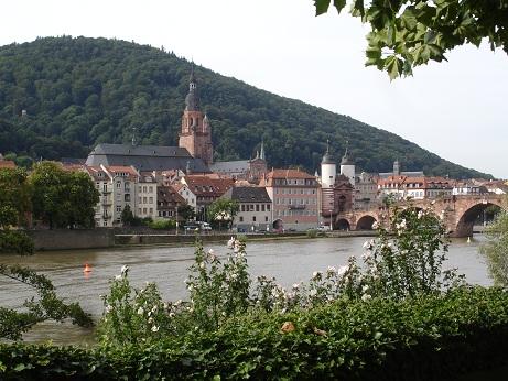 Heidelberg kalesi ve köprüsü