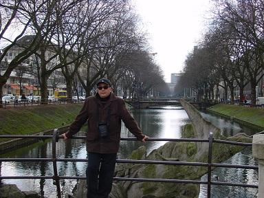 Kanal üzerinde-Köln