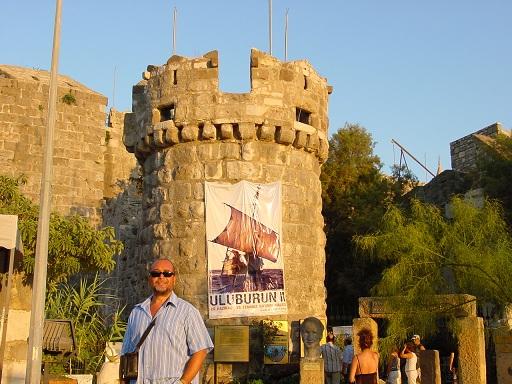 Bodrum kale girişi