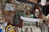 Paşa Kaptan'ın bahçesinde nostaljik objeler