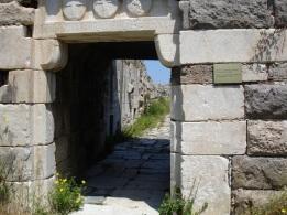 Kos kale duvarları