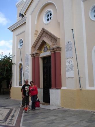 Kos' ta modern kilise