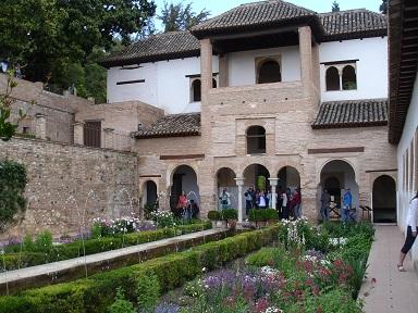 Alhambra Sarayı, Granada-İspanya