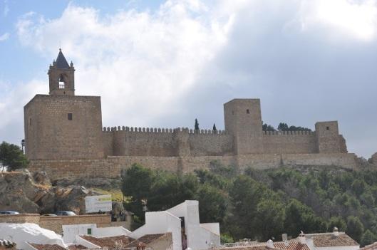 Alcazaba kalesi-Antiquera