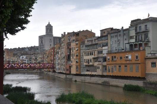 Girona ve Onyar nehri