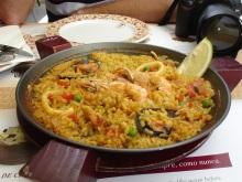 Meşhur Paela yemeği