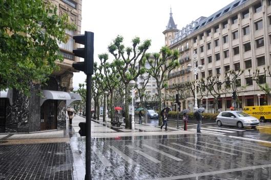 Yağmurda San Sebastian