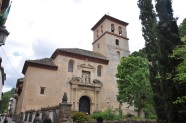 Albaicin'de kilise