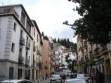 Alhambra tepesine çıkan yollar