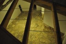 Büyük Cami'de Roma döneminden kalma yer mozaikleri