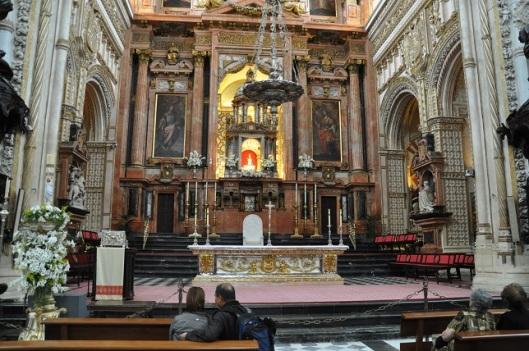 Cordoba Katedralinin içi