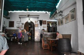 Cordoba'da kahvehane