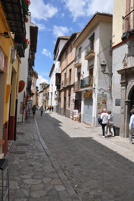 Eski Granada' nın sokakları