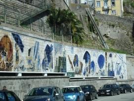Eski Porto' da duvar süslemeleri