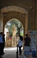 Müze girişi
