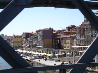 Ponte D.Maria köprüsünden şehir