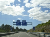 Portekiz'e giden otoyol