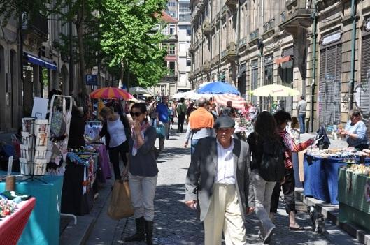 Porto' da sokak çarşısı
