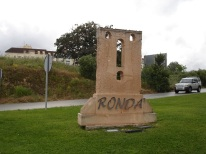 Ronda şehir girişi