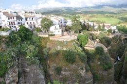 Ronda'nın meşhur kayalıkları