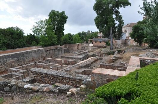 Abencerrajes Sarayı kalıntıları