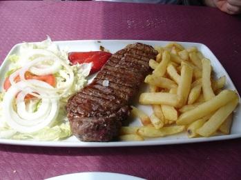 Asturias bifteği