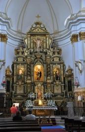 Enkarnasyon kilisesi içi