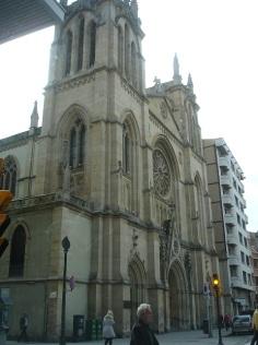 Gijon San Lorenzo kilisesi
