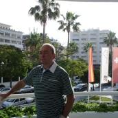 Hapimag otelin balkonunda
