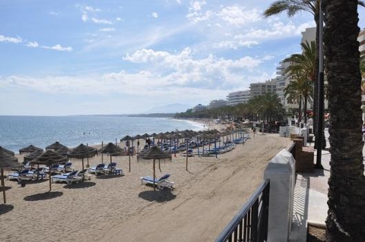 Marbella sahili