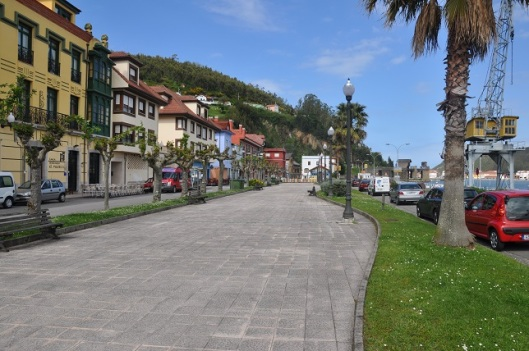 San Esteban sahil yolu