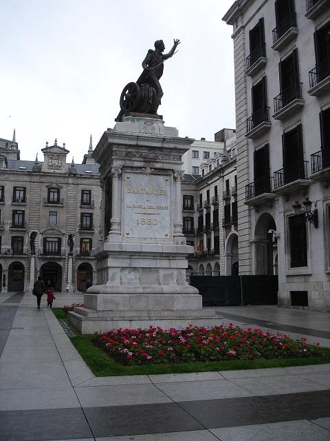 Santander heykeli