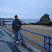 Santander sahilinde