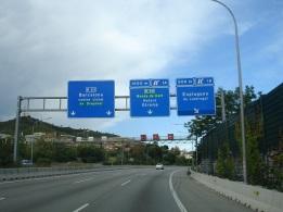 Barcelona girişi