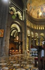Katedralin içinden bir görüntü
